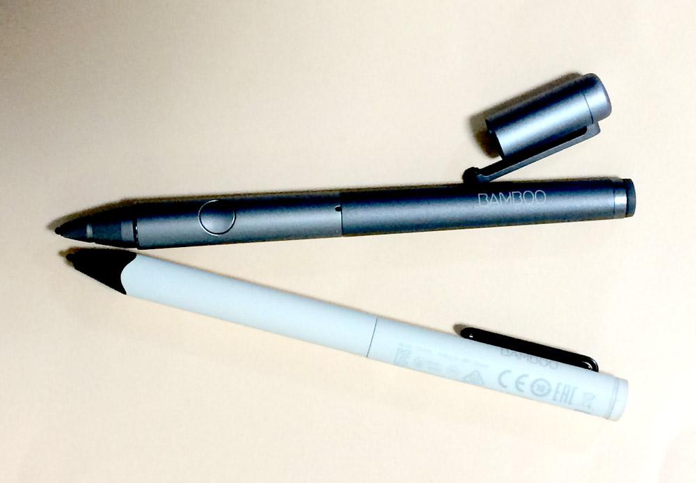 Wacomワコム Bamboo Fineline 1st & 3rd generation 新旧スタイラスペン