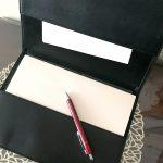 手帳カバーでコピー用紙ファイル