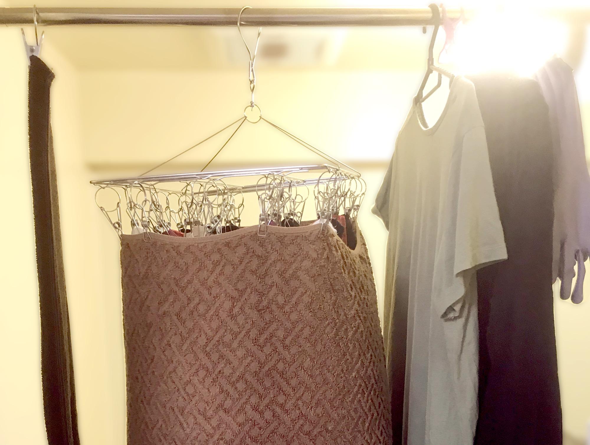物干し 一人暮らし 洗濯